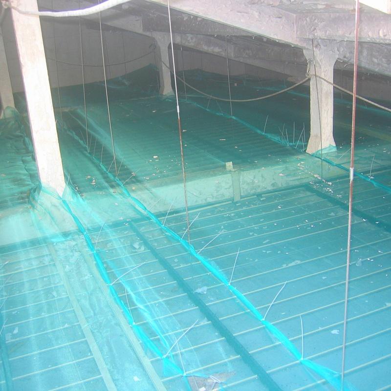 Instalación de redes de protección en lugares de difícil acceso Cantabria