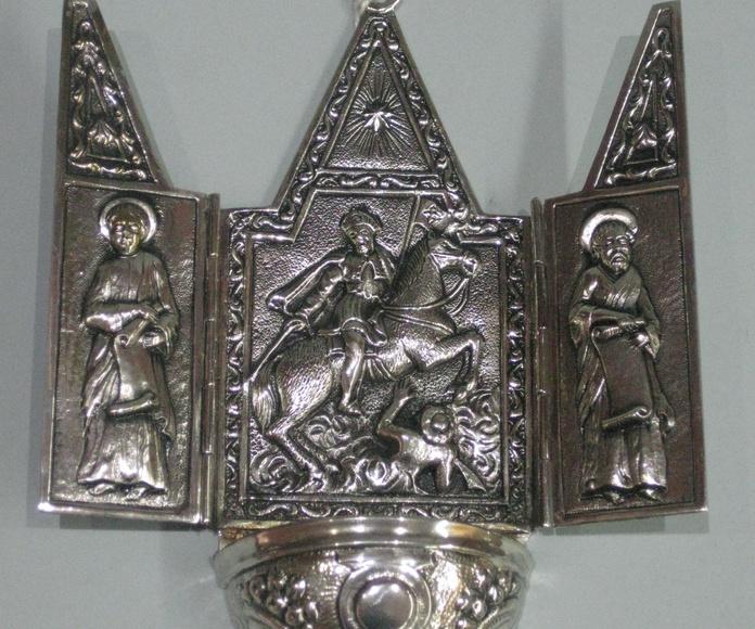 TRIPTICO SANTIAGO: Catalogo de plata de Vera Orfebre
