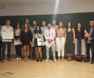 Alumnos del máster en Málaga