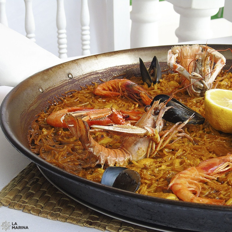 Paellas y Arroces: Carta de Restaurante La Marina