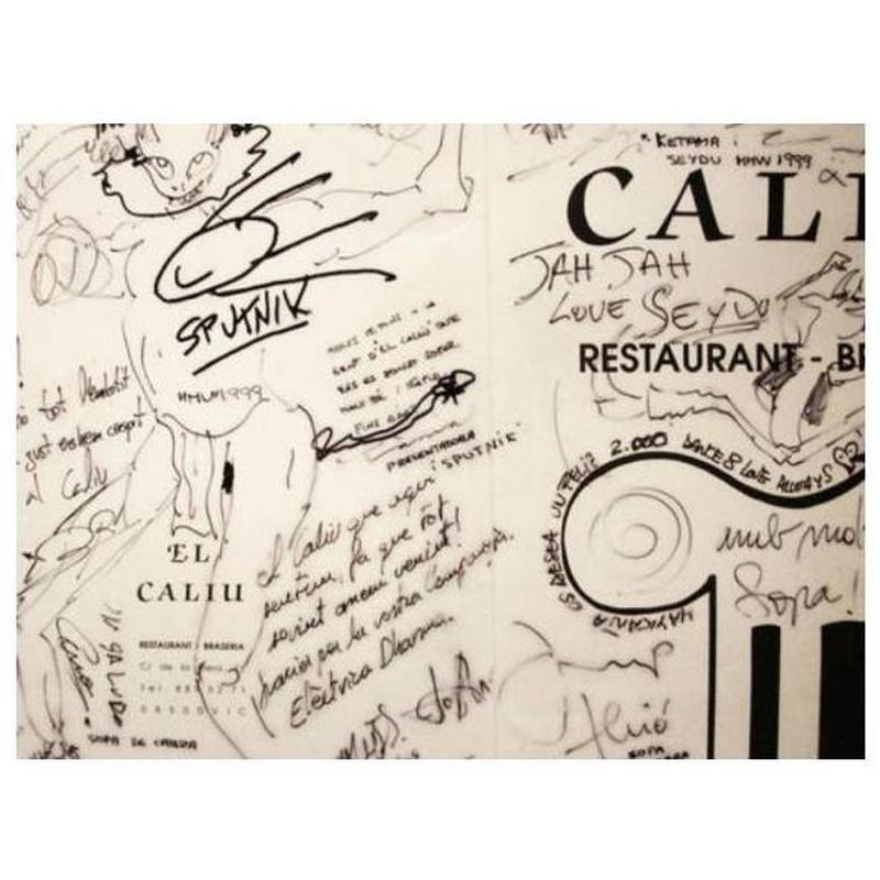 Helados: La carta de Restaurant Brasería El Caliu