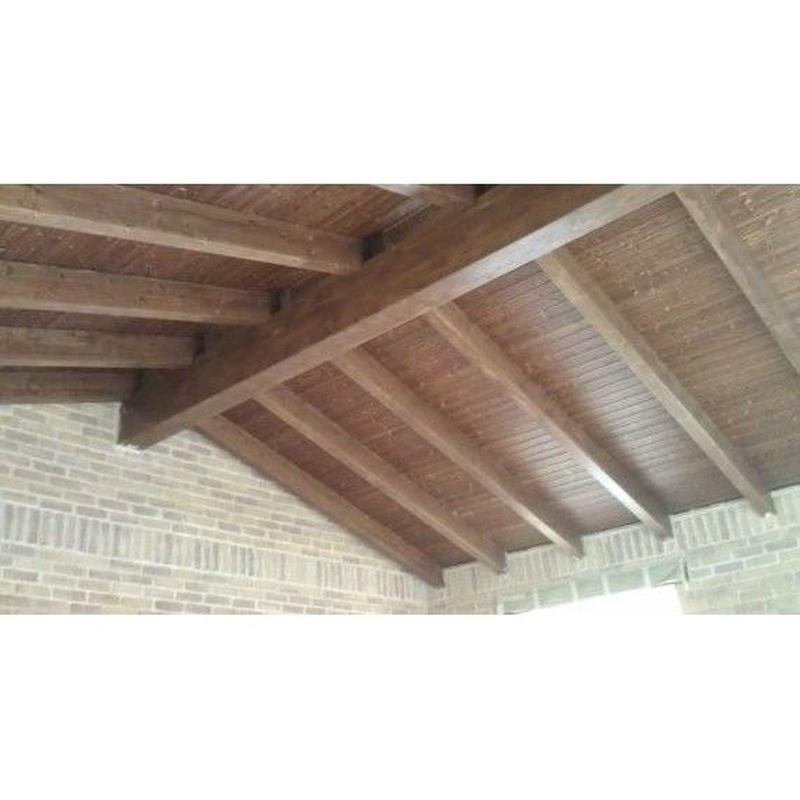 Tejados y estructura: Catálogo de Carpintería de Anento
