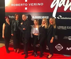 Parte del equipo de Marta G con Roberto Verino en Museo Balenciaga (Oct 2016)