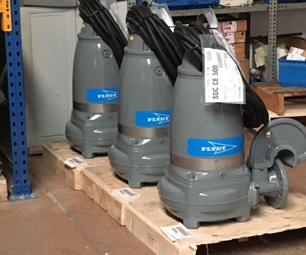 El mantenimiento de las bombas de agua