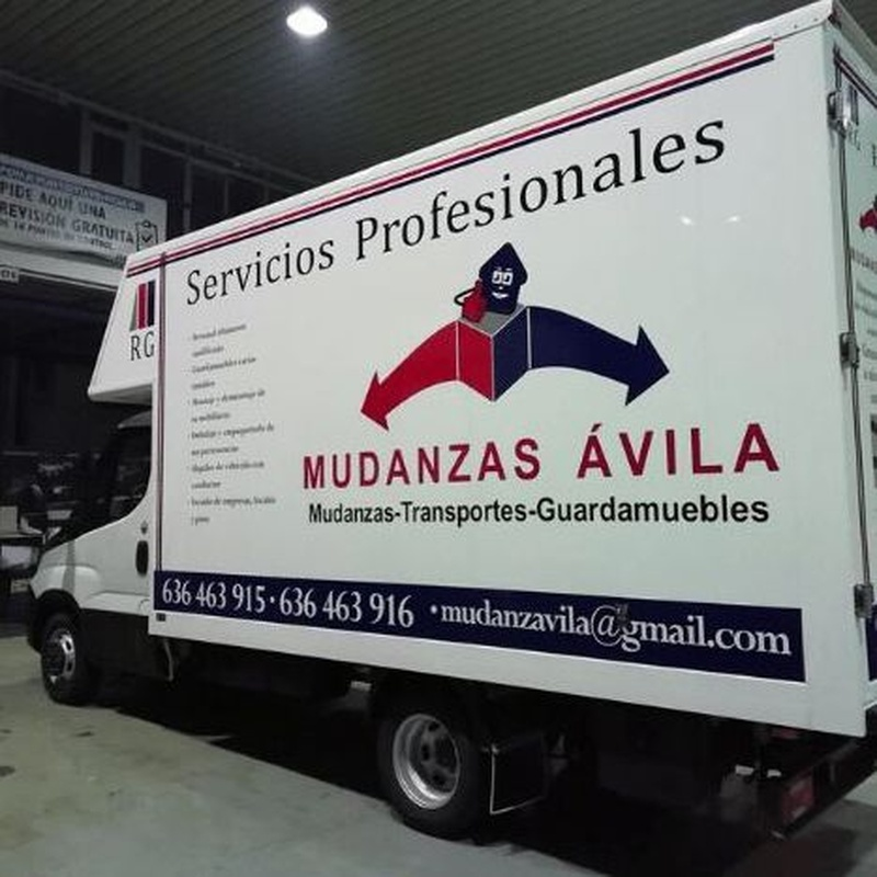 Transportes en Ávila: Servicios de Mudanzas Ávila