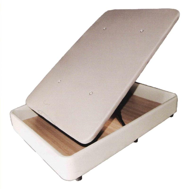 Canapé Irene, canapé abatible en polipiel con tapa tapizada en tela 3D y valvulas de aireación. Diponibilidad en varios colores.