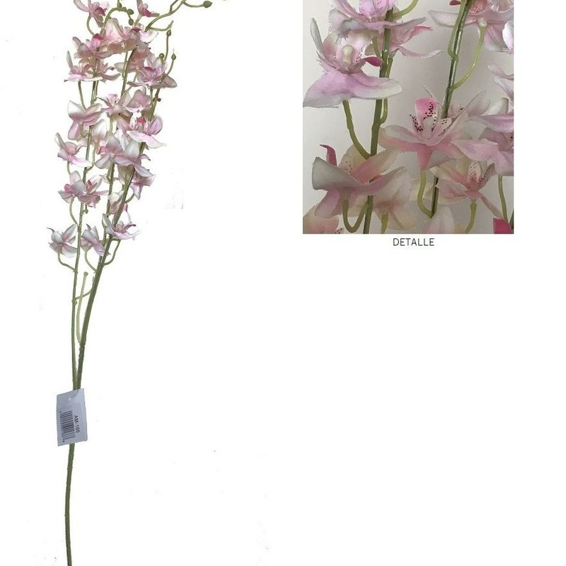 VARA DE DENDROBIUMx3 (85cm)/ ROSA REF: AM-166 (ROSA) PRECIO: 2,25€/UD