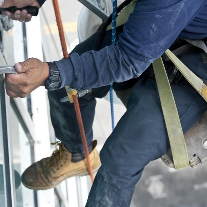 Los trabajos verticales son más seguros de lo que imaginas (II)