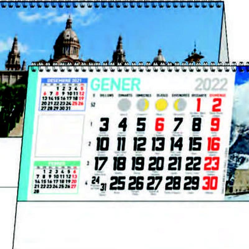 Ref. 61 - Cataluña: Nuestros Productos de Gráficas Kalendex