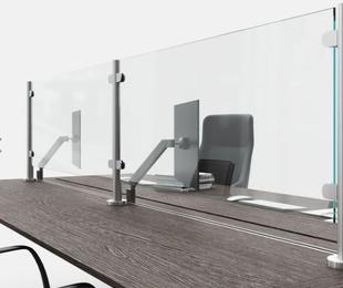 Separadores de mesa y mostrador