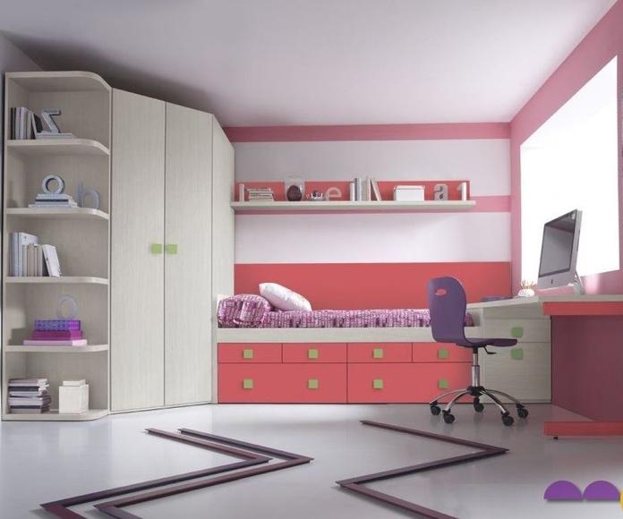 Dormitorio juvenil: Productos de MOBLESVIL