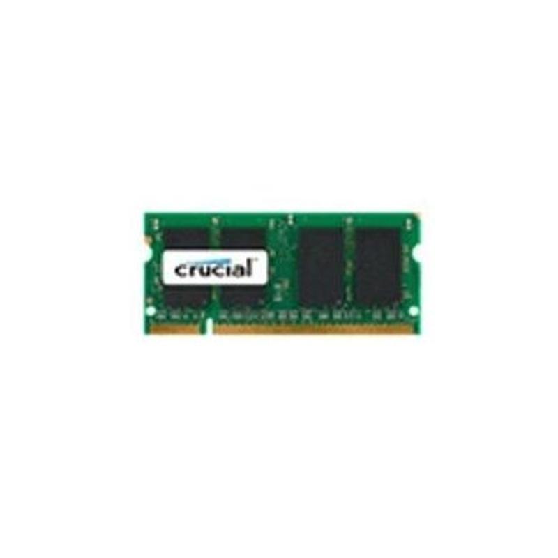 Crucial CT25664AC800 soDim 2GB DDR2 800MHz CL6 : Productos y Servicios de Stylepc
