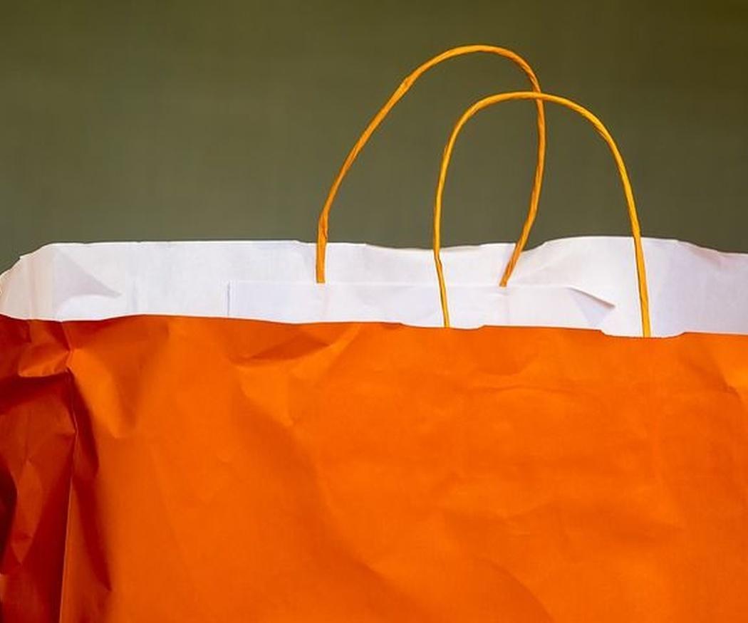 El origen de las bolsas de compra