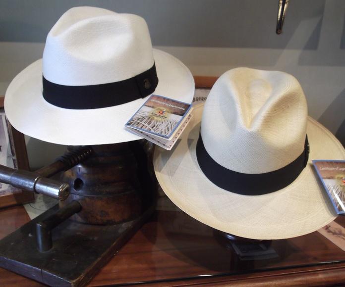 sombreros jipijapa.