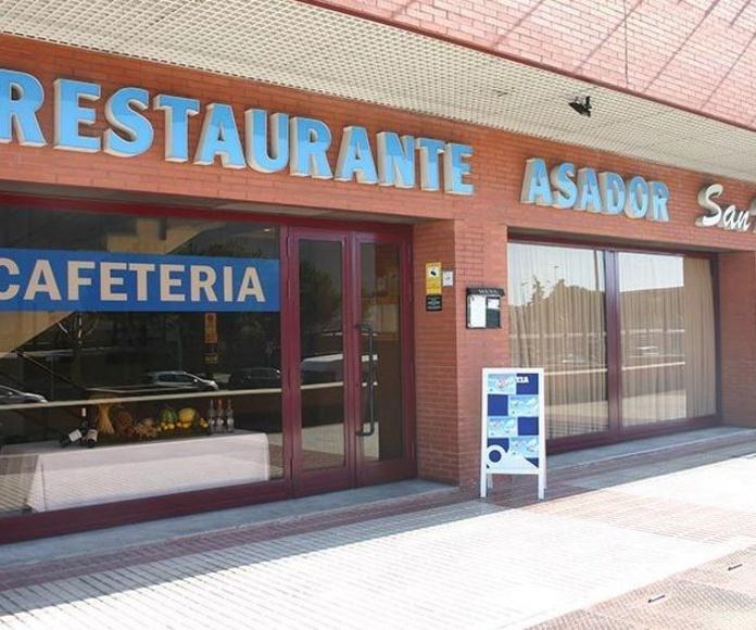 Restaurante San Isidro en hotel Diana Plus