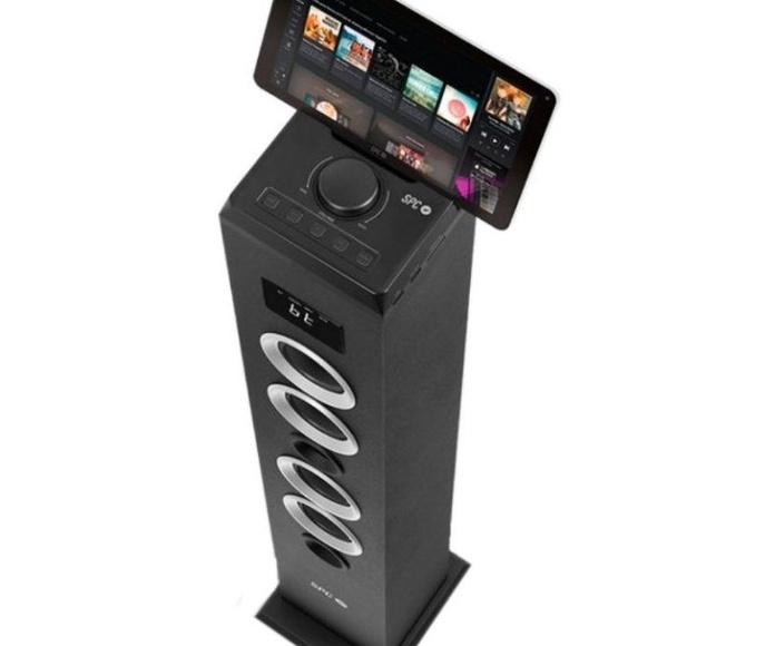 SPC Torre Sonido Thunder Bluetooth SD/Radio 40w Ne: Productos y Servicios de Stylepc