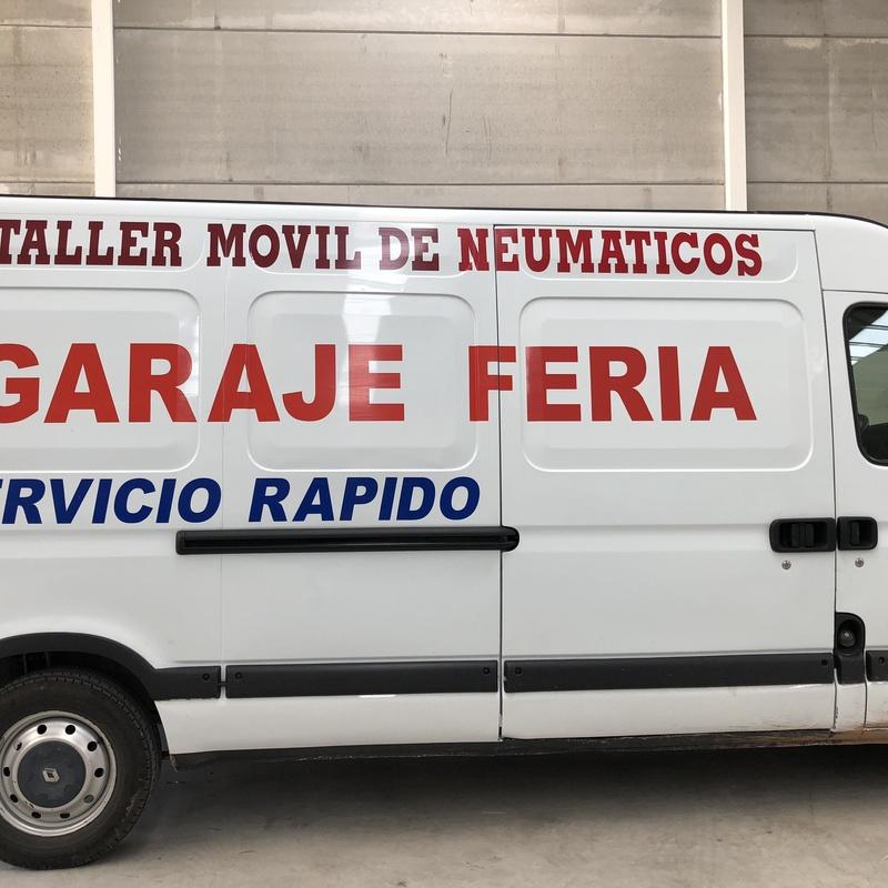 Taller móvil de neumáticos: Servicios de Garaje Feria
