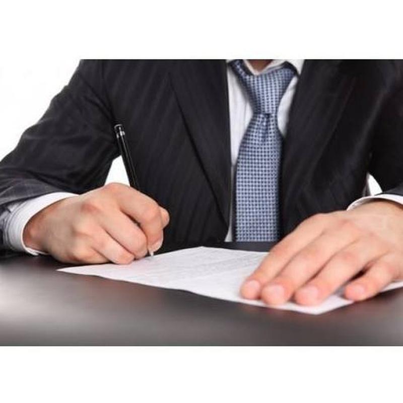 Asesoramiento y tramitación de herencias: Servicios de Benavent Abogado