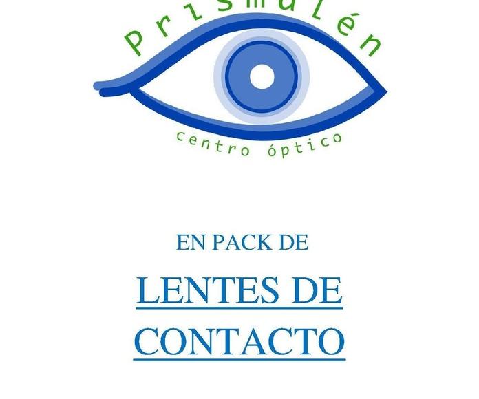PACK DE LENTILLAS PARA 6 MESES: Servicios de ÓPTICA PRISMALEN             Nº reg. sanitario: E-36-000 230