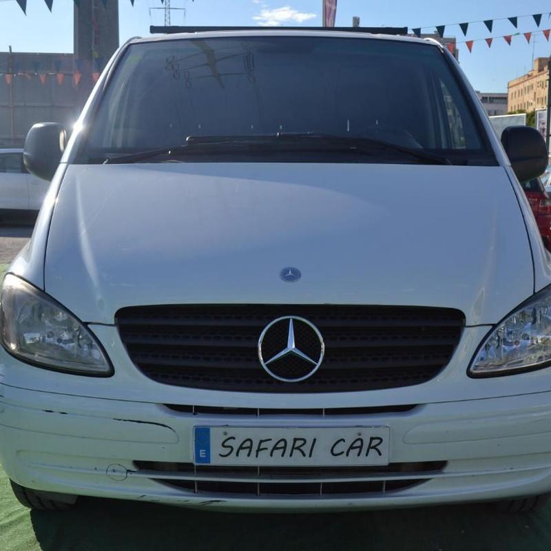 Mercedes-Benz Vito Furgón 111CDI Compacta: Nuestros coches de Safari Car