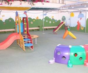 Patio de nuestra escuela infantil en Palma de Mallorca