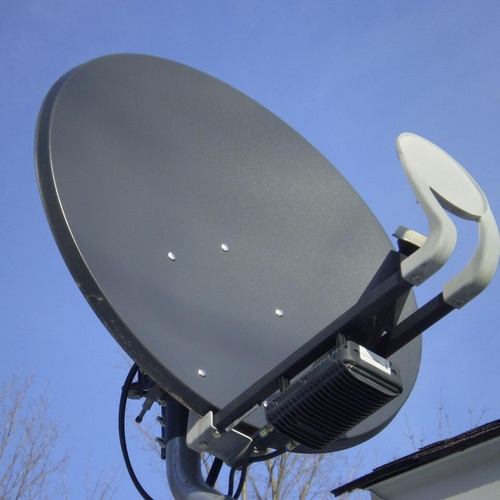 Telvisat, antenas satélite