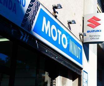 Mecánica rápida: Productos y servicios de Motominut