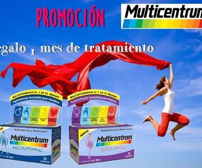 ¡Promoción Multicentrum!