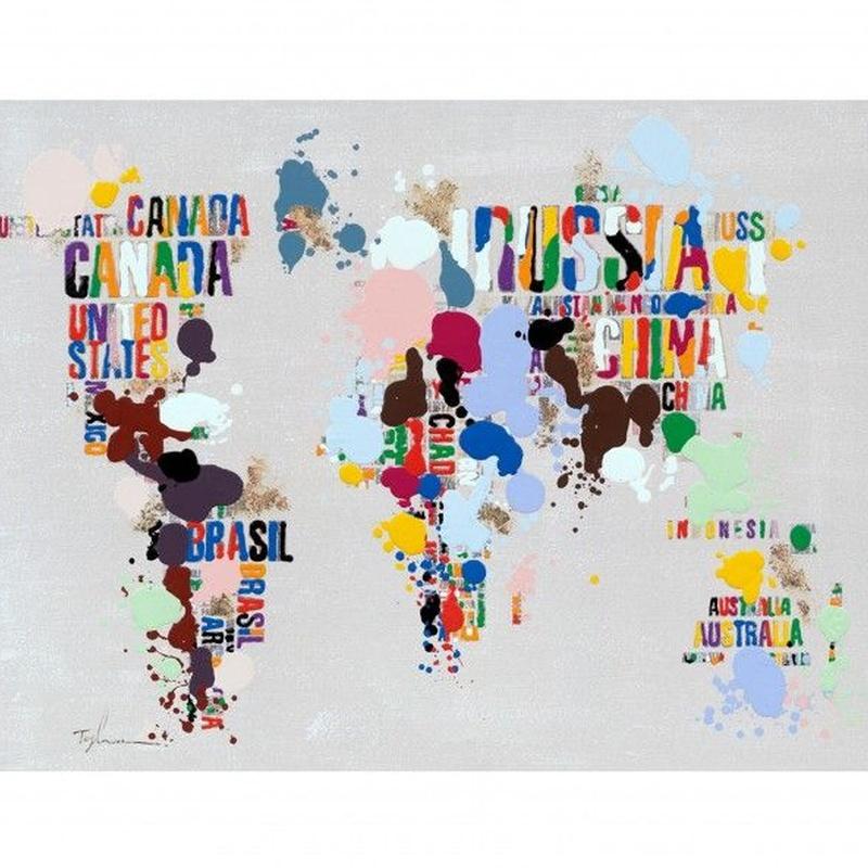 Cuadro World Fusion - Camino a Casa