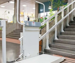 Plataforma para escaleras