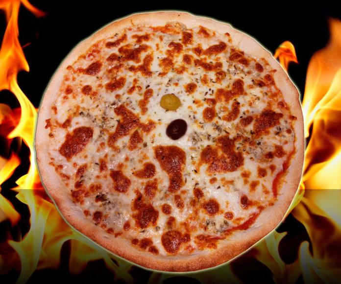 Pizza gorgonzolla