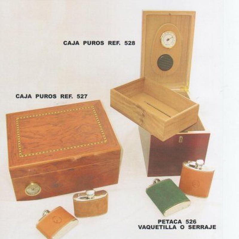 CAJAS DE PUROS: Catálogo de M.G. Piel