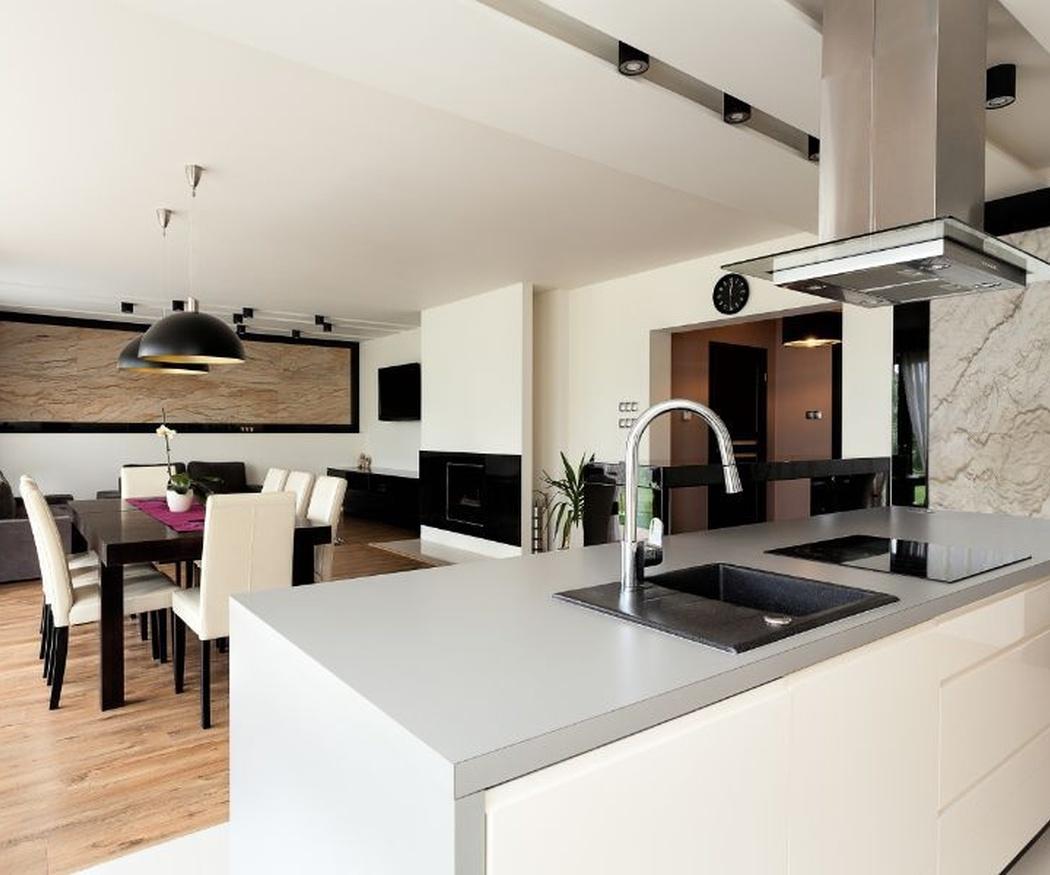 5 ventajas de las cocinas integradas en el salón