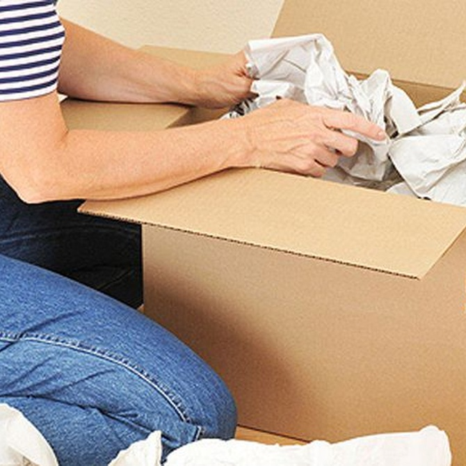 Por qué usar cajas de cartón para una mudanza