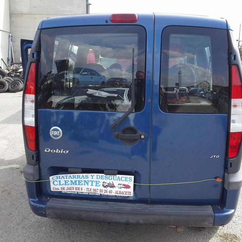 Fiat Doblo 2004 para desguace en Desguaces Clemente de Albacete