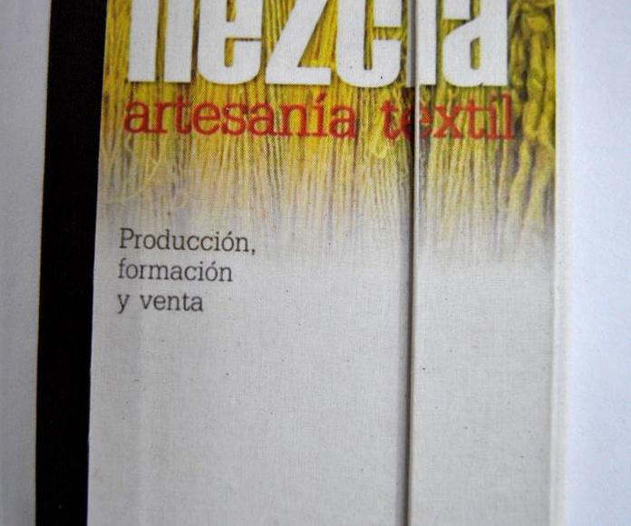 Libro para taller de artesanía