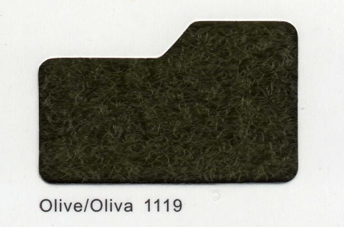 Cinta de cierre Velcro-Veraco 100mm Oliva 1119 (Rizo).