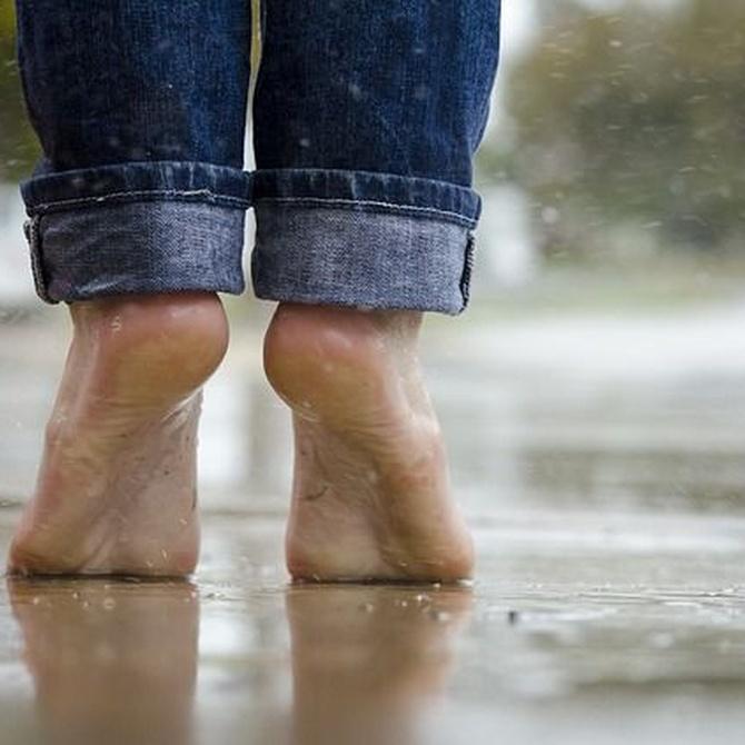 ¿Por qué sudan los pies?