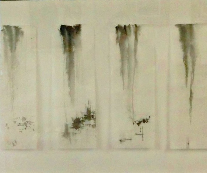 SUBTILESES DESDE L ANIMA. tinta xina/paper japó. 34x86cm