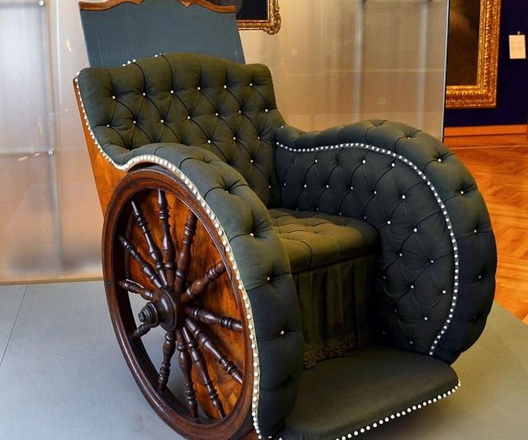 Origen de las sillas de ruedas