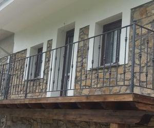 Balconada de forja