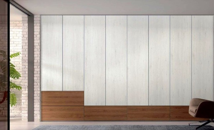Armario puertas batientes AB_4: Muebles de Spais a Mida