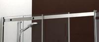 Perfilería superior aluminio pulido brillo