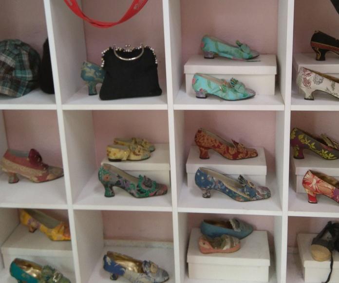 Confección zapatos de fallera a medida