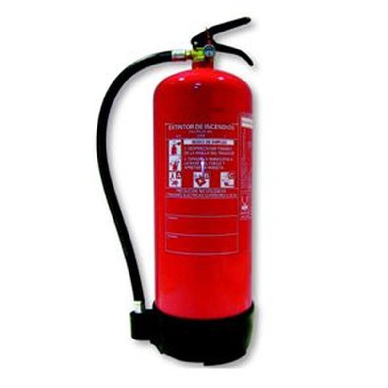 Extintor Polvo 9Kg: Servicios de Allintegra, S.L.
