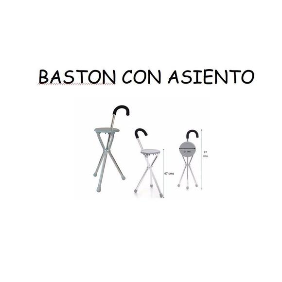 Bastón con asiento: Catálogo de Ortopedia Bentejui