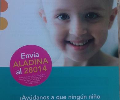 Vivahinchables contra el cancer infantil.