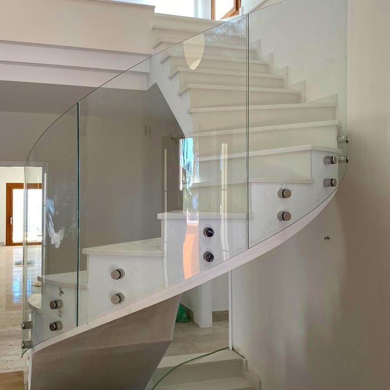 Bandillas de vidrio elegantes