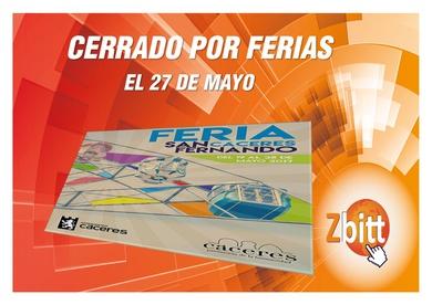 Feria de Cáceres San Fernando 2017