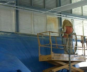 Proyección de espuma de poliuretano: Servicios de Grup Soltecons SL
